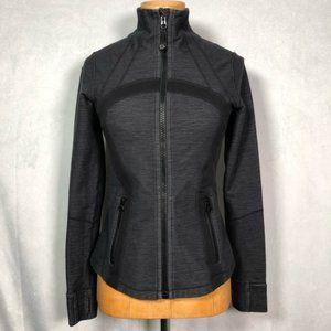 Lululemon Define Jacket Grey Black
